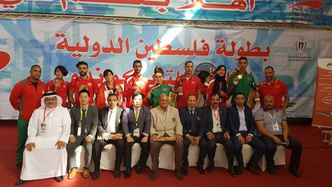 تألق المنتخب الوطني في الدوري الدولي G1 فلسطين