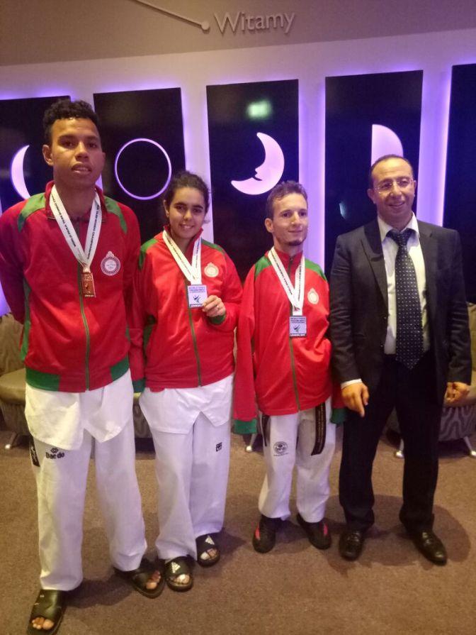 المنتخب الوطني المغربي للباراتايكوندو يحقق نتيجة جد مشرفة بالعاصمة البريطانية لندن
