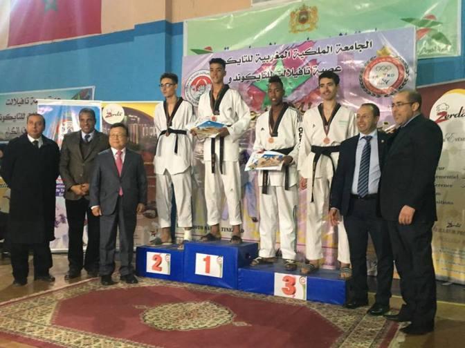 نتائج نهائيات البطولة الوطنية الفردية  لفئتي الشبان والشابات  وكأس سفير كوريا