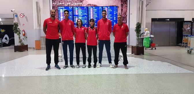 مشاركة المنتخب الوطني  في النسخة الأولى للدوري الدولي بيروت للتايكوندو 1st Beirut Open