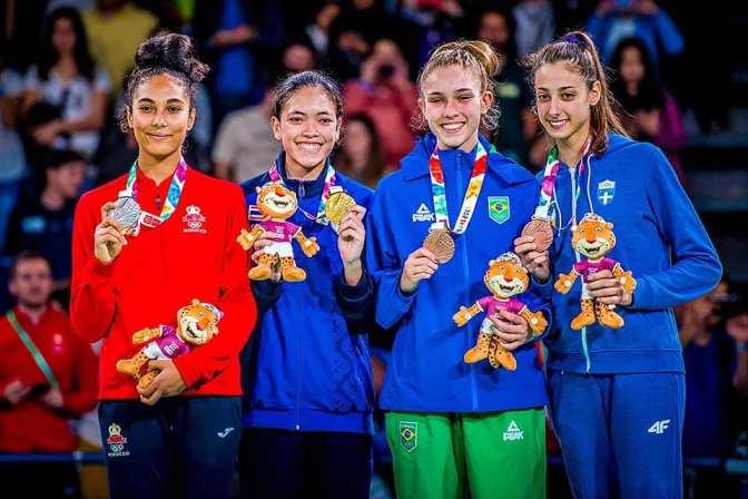 المغرب يحرز الميدالية الفضية خلال دورة الألعاب الأولمبية للشباب  الأرجنتينية بوينس إيريس